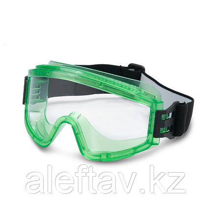 Очки защитные с полной закрытой панорамой глаз, выполнены из качественного пластика Пр-во Турция, фото 2