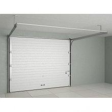 Ворота гаражные секционные с пружинами растяжения (RSD01 BIW) — 462