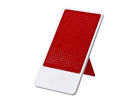 Подставка для мобильного телефона Flip, красный/белый