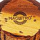 Деревянная тарелка (чаша) «Сибирский Вяз», из натурального вяза, цвет коричневый, фото 5
