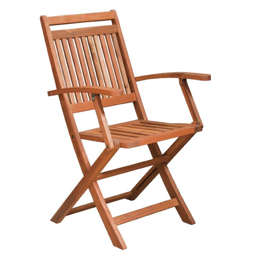 Кресло складное деревянное (Вьетнам)