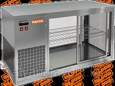 Настольная холодильная витрина сквозная HICOLD VRL T L/R