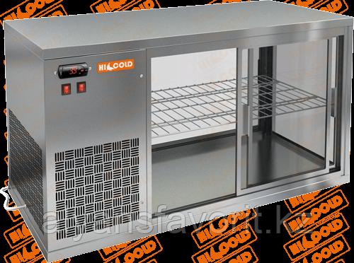 Настольная холодильная витрина сквозная HICOLD VRL T L/R, фото 2