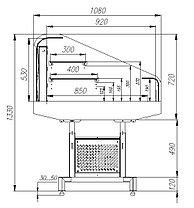 Холодильная витрина PF11-13 VM 1,25-2 9006 Fudzi, фото 3