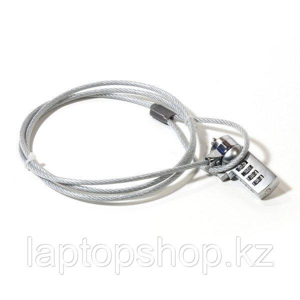 Металлический трос для ноутбука Laptop V-T security lock - 05 (с кодовым замком).