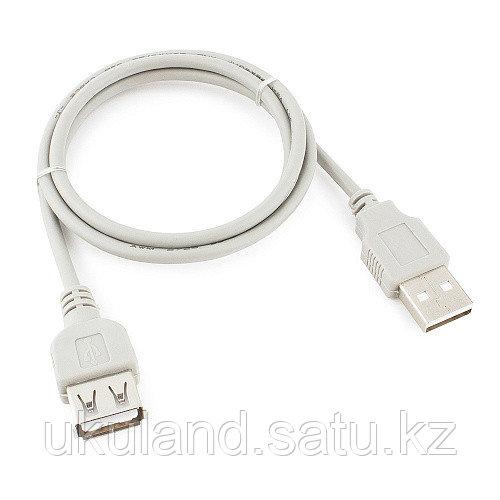 Кабель удлинитель USB 2.0 Gembird CC-USB2-AMAF-75CM/300, AM/AF, 75см, пакет