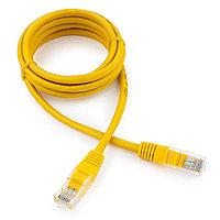 Патч-корд UTP Cablexpert PP12-1.5M/Y кат.5e, 1.5м, литой, многожильный (желтый)