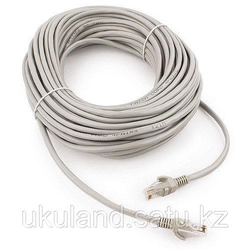 Патч-корд UTP Cablexpert PP12-20M кат.5e, 20м, литой, многожильный (серый)