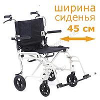 Кресло-каталка складная, облегчённая, грузоподъемность 130кг MET 903 ., фото 1