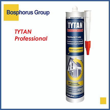 Силикон TYTAN (герметик силиконовый) универсальный, бесцветный, белый, черный, фото 2