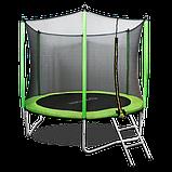 Батут Oxygen Fitness Standard 10 ft outside c баскетбольным кольцом в комплекте, фото 2