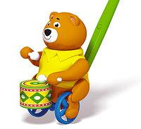 Каталка Медведь барабанщик