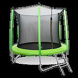 Батут Oxygen Fitness Standard 10 ft inside c баскетбольным кольцом в комплекте, фото 3