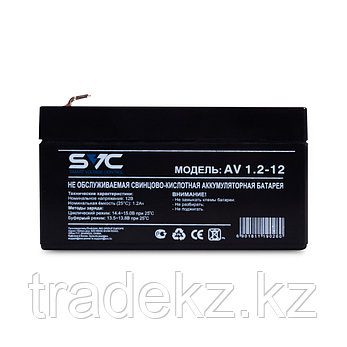Аккумуляторная батарея SVC AV1.2-12 12В 1.2 Ач, фото 2