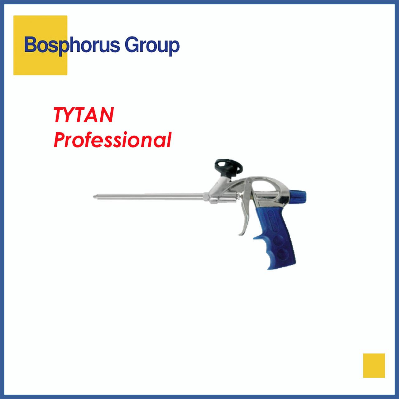 Пистолет для пены ПРОФ Tytan, стальной клапан