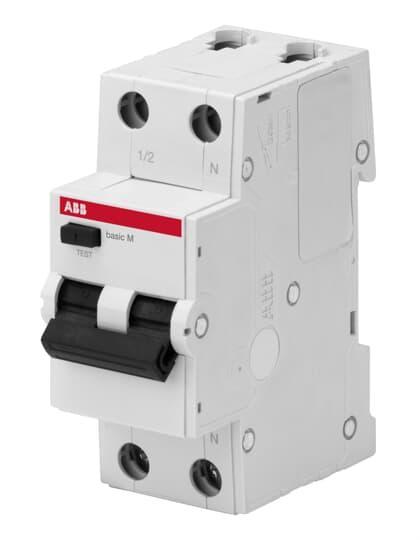 2CSR645041R1254 Автоматический выключатель дифференциального тока 1P+N 25А C 4.5kA 30мA AC BMR415C25