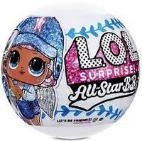 Кукла лол серия спорт LOL Surprise All-Star BB's S1-Bsbll