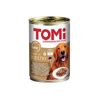 TOMI консервы - для собак  (три вида птицы) 400 гр.