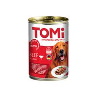 TOMI консервы - для собак (с говядиной) 400 гр.