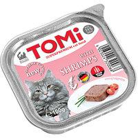TOMI - для кошек паштет (с креветками) 100 гр.