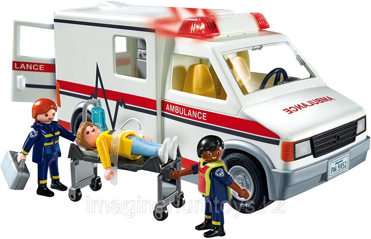 Конструктор Playmobil «Машина скорой помощи» с фигурками
