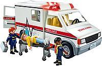 Конструктор Playmobil «Машина скорой помощи» с фигурками, фото 1