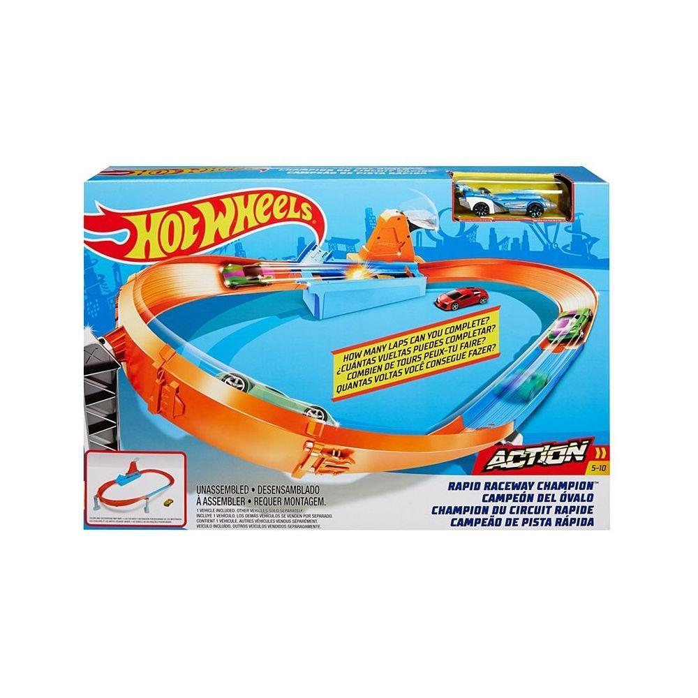 """Hot Wheels Набор """"ACTION: Соревнования за кубок Чемпион скоростных гонок"""""""