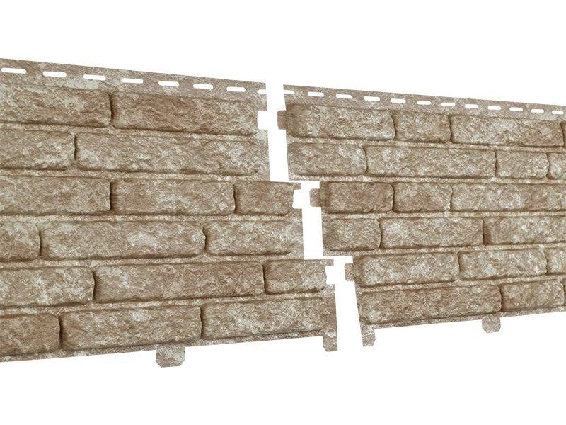 Фасадные панели Ю-Пласт Stone House Кварцит