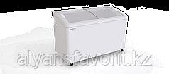 Морозильный ларь с гнутым стеклом Bonvini BFB 1501 (ST/T)