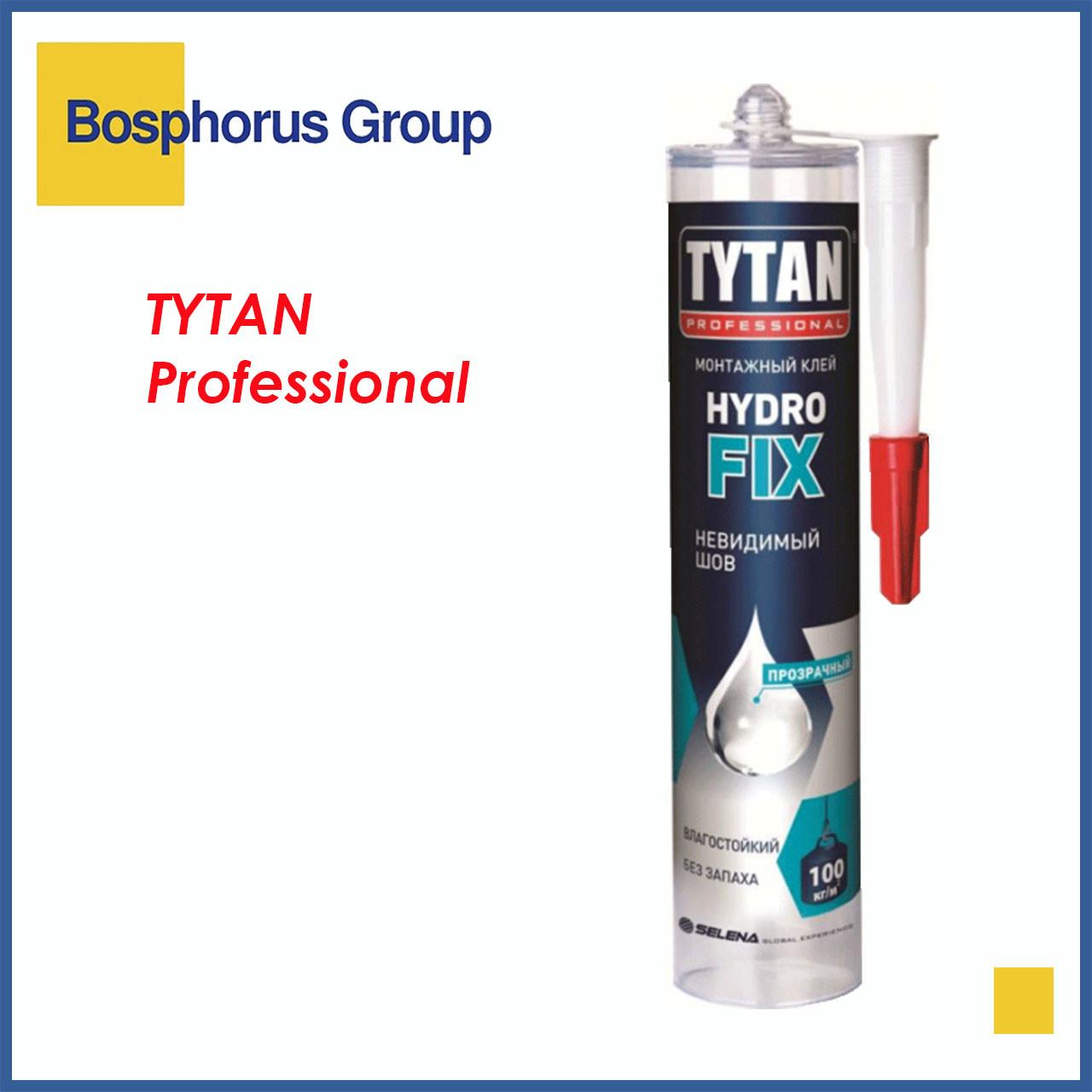Клей монтажный TYTAN HYDRO FIX бесцветный