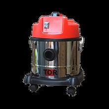 Профессиональные водопылесосы для сбора сухой и жидкой грязи TOR WL092-15 INOX