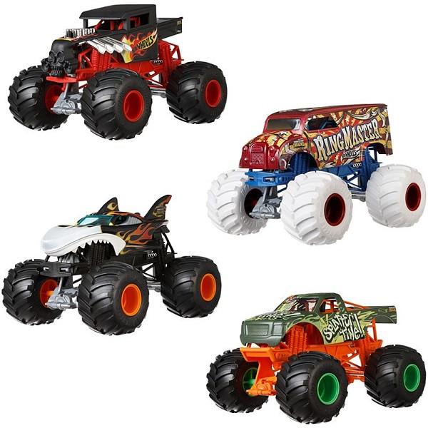 Hot Wheels Машинка Монстр трак, масштаб 1:24, Хот Вилс FYJ83