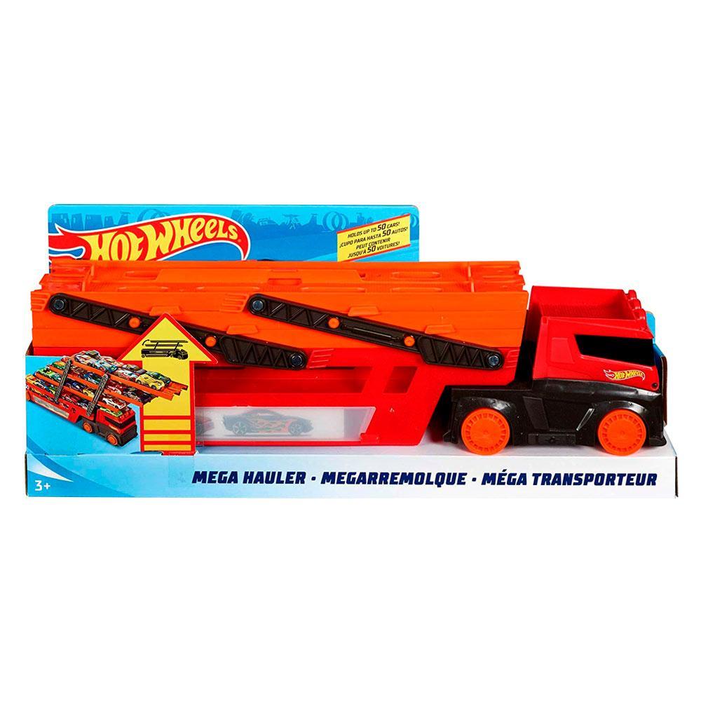 Hot Wheels Мега Автовоз на 50 машинок (2019)