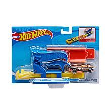 """Hot Wheels Мини пусковая установка синяя """"Быстрый старт"""", с машинкой Хот Вилс"""