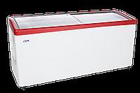 Морозильный ларь с прямым стеклом МЛП-700