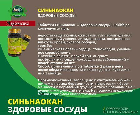 СИНЬНАОКАН - ЗДОРОВЫЕ СОСУДЫ, фото 2