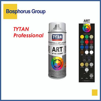 Краска TYTAN аэрозольная, белая глянцевая, фото 2