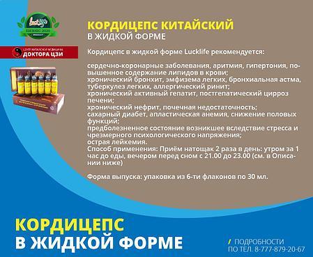 КОРДИЦЕПС В ЖИДКОЙ ФОРМЕ, фото 2
