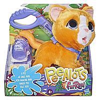 """FurReal Friends / """"Шаловливый питомец"""", большой Котёнок (поильник)"""