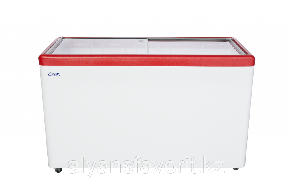 Морозильный ларь с прямым стеклом МЛП-500