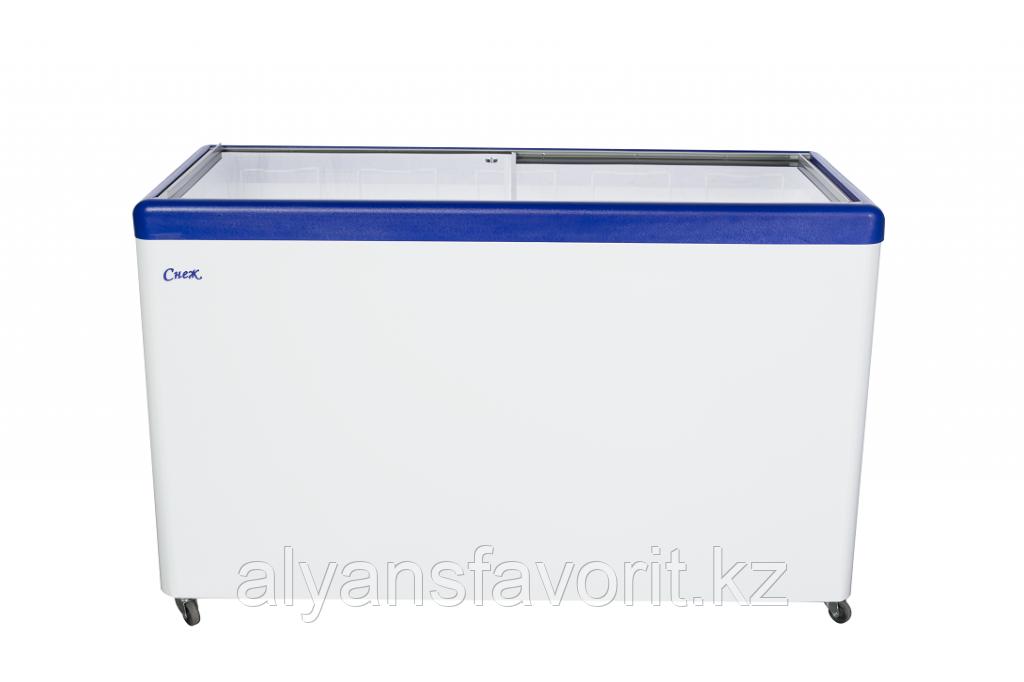Морозильный ларь с прямым стеклом МЛП-400