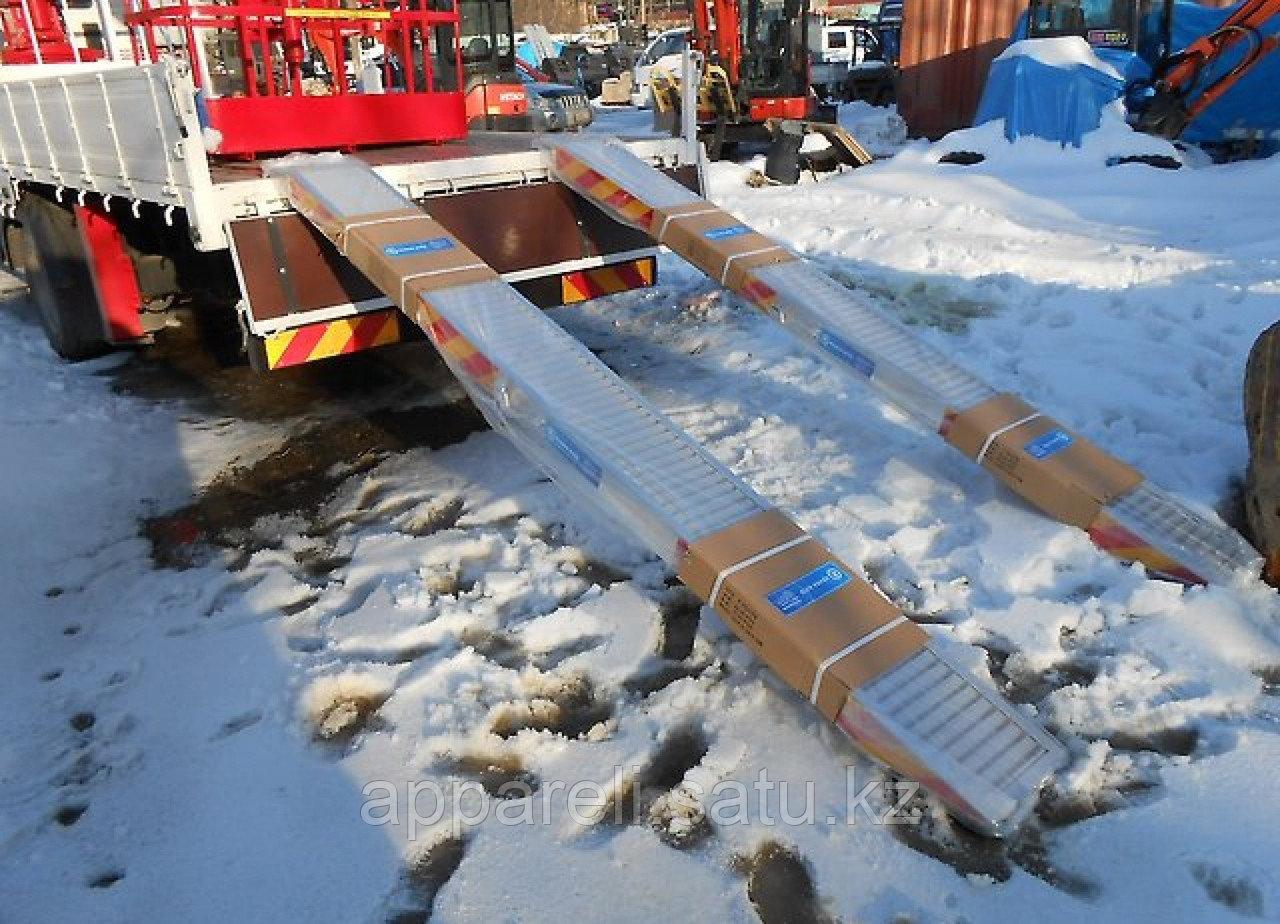 Алюминиевые аппарели до 5 тонн, 2800 мм длина.