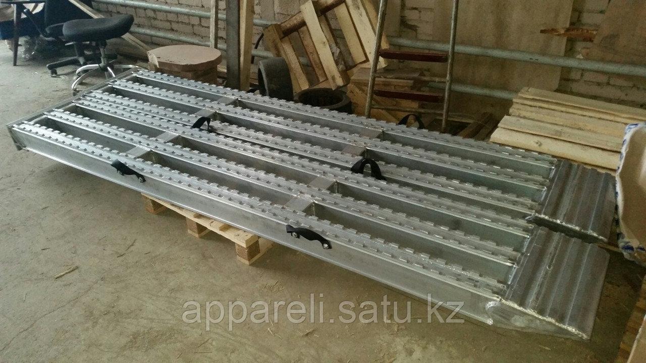 Алюминиевые аппарели до 17 тонн длина 3100 мм.