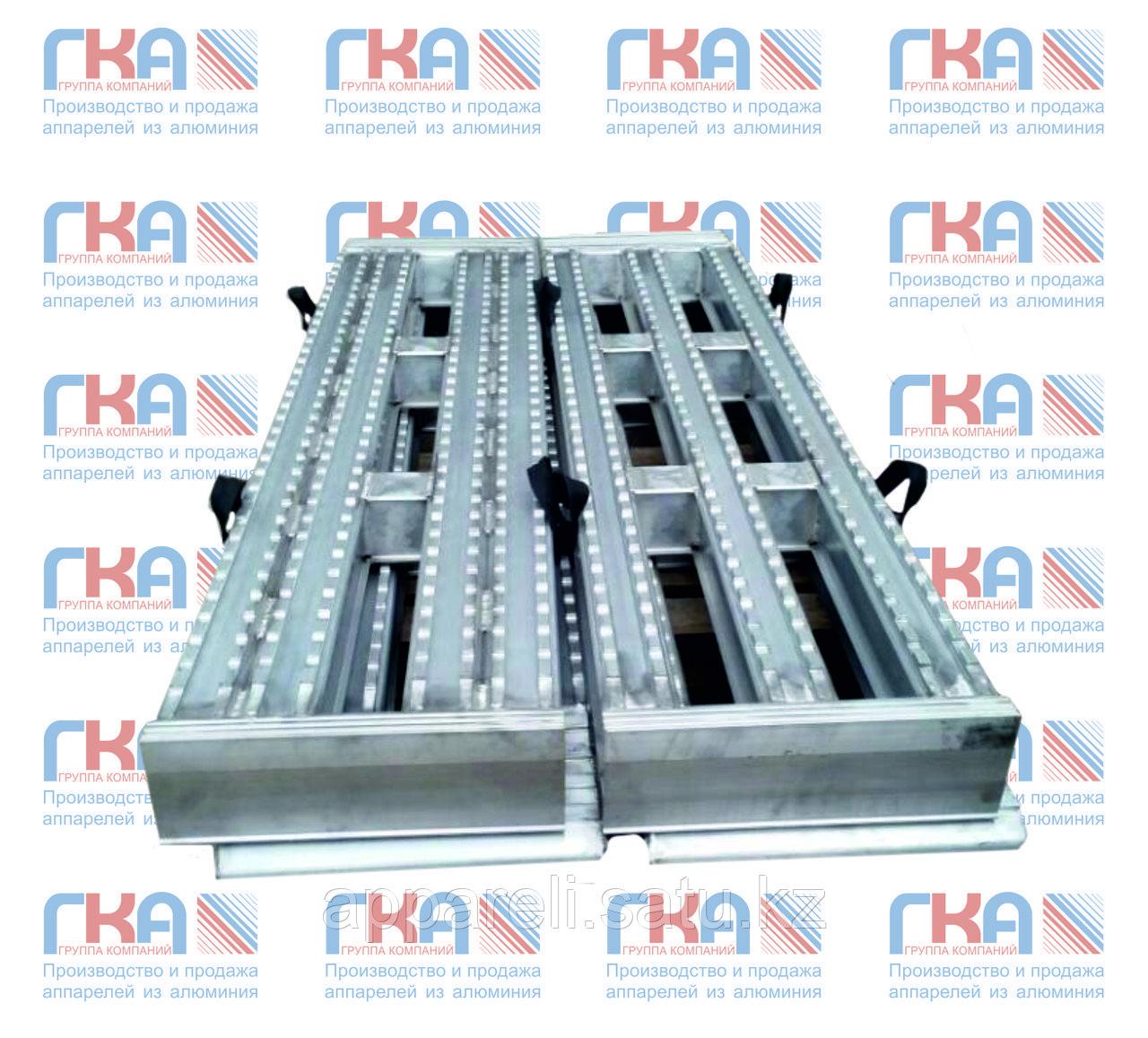 Алюминиевые аппарели до 60 тонн длина 3500 мм.