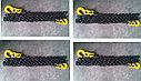 Крепёжная цепь с крюками, длина 5 метров, фото 2
