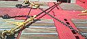 Крепёжная цепь с крюками, длина 5 метров, фото 4
