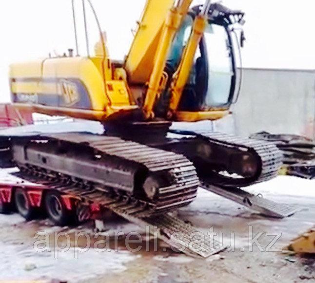 Алюминиевые аппарели до 21 тонны длина 2400 мм.