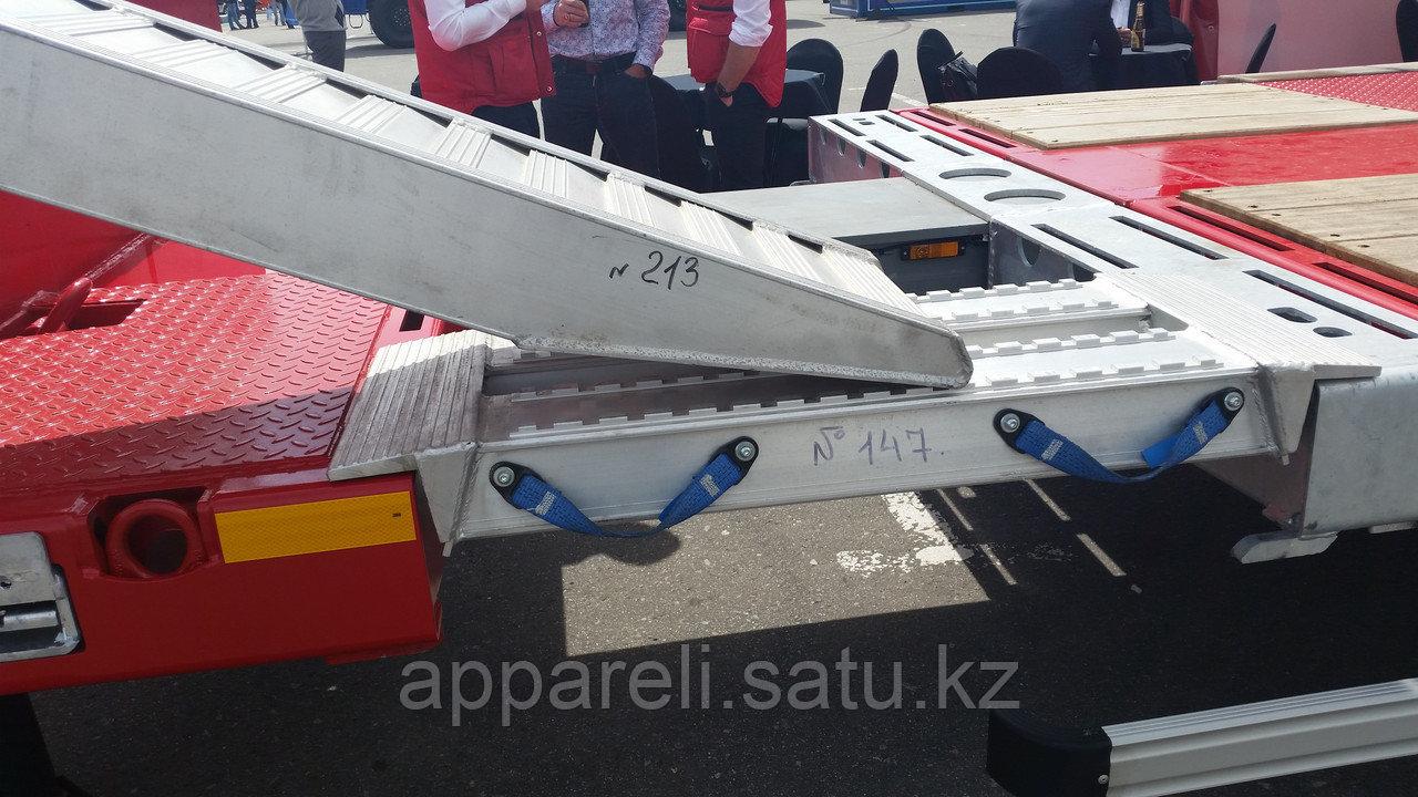 Алюминиевые аппарели до 5 тонн, для заезда техники на гусёк прицепа.