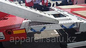 Алюминиевые аппарели до5 тонн, для заезда техники на гусёк прицепа.