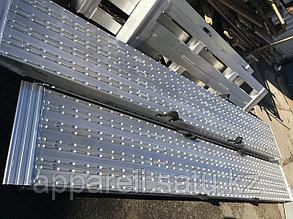 Алюминиевые аппарели до 11 тонн длина 3500 мм.